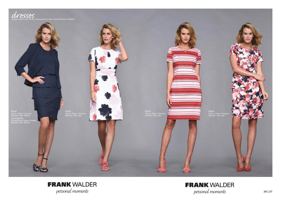 FRANK WALDER CATALOGUE SS17